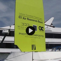 HIGH TECH SAIL COULD ONE DAY POWER FERRY BOATS